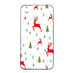 Christmas Pattern Apple iPhone 4/4s Seamless Case (Black)
