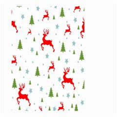 Christmas Pattern Small Garden Flag (Two Sides)