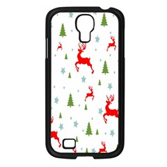Christmas Pattern Samsung Galaxy S4 I9500/ I9505 Case (Black)