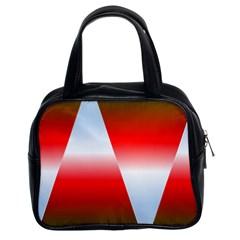Christmas Pattern Classic Handbags (2 Sides)