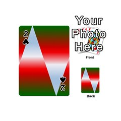 Christmas Pattern Playing Cards 54 (Mini)
