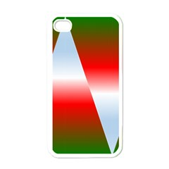 Christmas Pattern Apple iPhone 4 Case (White)
