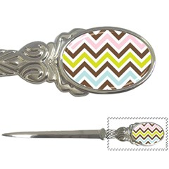 Chevrons Stripes Colors Background Letter Openers