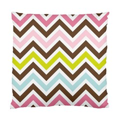 Chevrons Stripes Colors Background Standard Cushion Case (One Side)