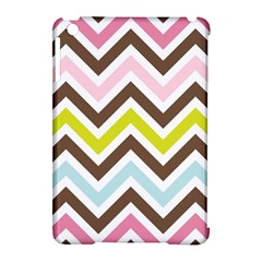 Chevrons Stripes Colors Background Apple iPad Mini Hardshell Case (Compatible with Smart Cover)