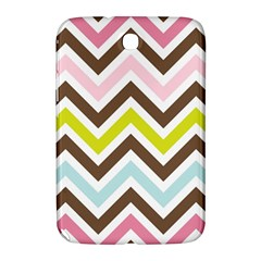 Chevrons Stripes Colors Background Samsung Galaxy Note 8.0 N5100 Hardshell Case