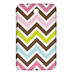 Chevrons Stripes Colors Background Samsung Galaxy Tab 3 (7 ) P3200 Hardshell Case