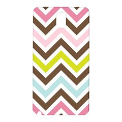 Chevrons Stripes Colors Background Samsung Galaxy Note 3 N9005 Hardshell Back Case