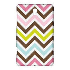 Chevrons Stripes Colors Background Samsung Galaxy Tab S (8.4 ) Hardshell Case