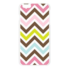 Chevrons Stripes Colors Background Apple Seamless iPhone 6 Plus/6S Plus Case (Transparent)