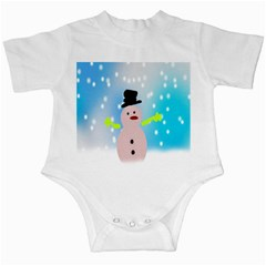 Christmas Snowman Infant Creepers