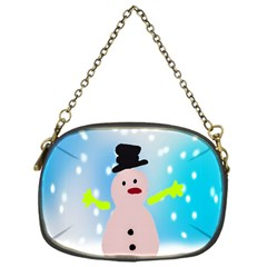 Christmas Snowman Chain Purses (one Side)