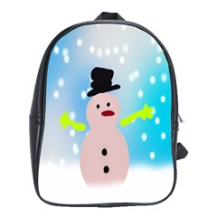Christmas Snowman School Bags(Large)