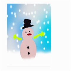 Christmas Snowman Large Garden Flag (Two Sides)