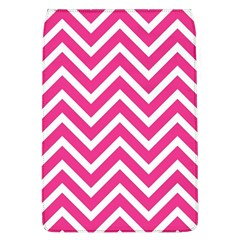 Chevrons Stripes Pink Background Flap Covers (L)