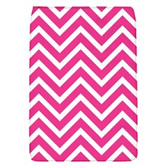 Chevrons Stripes Pink Background Flap Covers (S)