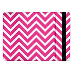 Chevrons Stripes Pink Background Samsung Galaxy Tab Pro 12.2  Flip Case