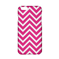 Chevrons Stripes Pink Background Apple iPhone 6/6S Hardshell Case