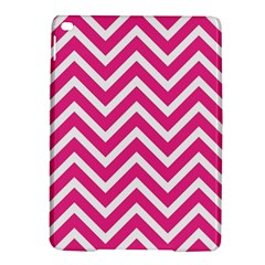 Chevrons Stripes Pink Background iPad Air 2 Hardshell Cases
