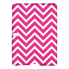 Chevrons Stripes Pink Background Samsung Galaxy Tab S (10.5 ) Hardshell Case