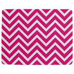 Chevrons Stripes Pink Background Jigsaw Puzzle Photo Stand (Rectangular)