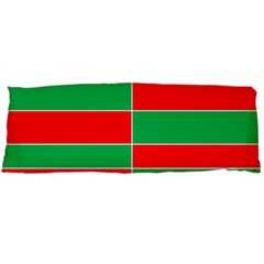 Christmas Colors Red Green Body Pillow Case Dakimakura (Two Sides)