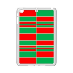 Christmas Colors Red Green Ipad Mini 2 Enamel Coated Cases