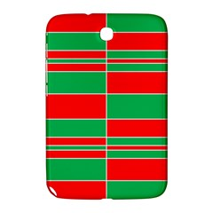 Christmas Colors Red Green Samsung Galaxy Note 8 0 N5100 Hardshell Case