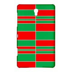 Christmas Colors Red Green Samsung Galaxy Tab S (8.4 ) Hardshell Case