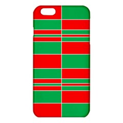 Christmas Colors Red Green iPhone 6 Plus/6S Plus TPU Case
