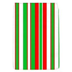 Christmas Holiday Stripes Red Green,white Flap Covers (s)