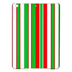 Christmas Holiday Stripes Red Green,white Ipad Air Hardshell Cases