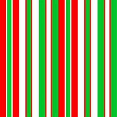 Christmas Holiday Stripes Red green,white Magic Photo Cubes