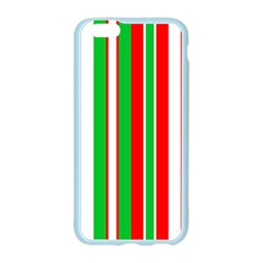 Christmas Holiday Stripes Red green,white Apple Seamless iPhone 6/6S Case (Color)