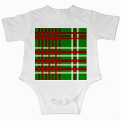 Christmas Colors Red Green White Infant Creepers