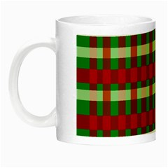 Christmas Colors Red Green White Night Luminous Mugs