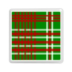 Christmas Colors Red Green White Memory Card Reader (Square)