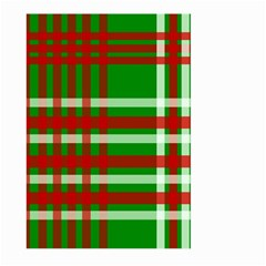 Christmas Colors Red Green White Large Garden Flag (Two Sides)