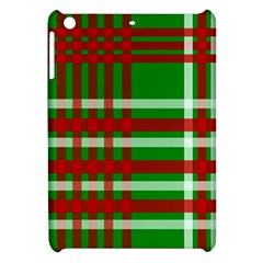 Christmas Colors Red Green White Apple Ipad Mini Hardshell Case