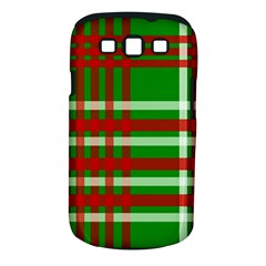 Christmas Colors Red Green White Samsung Galaxy S III Classic Hardshell Case (PC+Silicone)