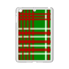 Christmas Colors Red Green White Ipad Mini 2 Enamel Coated Cases