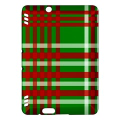 Christmas Colors Red Green White Kindle Fire HDX Hardshell Case