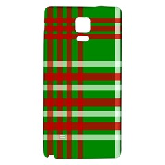 Christmas Colors Red Green White Galaxy Note 4 Back Case