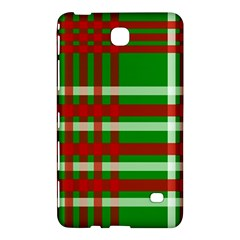 Christmas Colors Red Green White Samsung Galaxy Tab 4 (7 ) Hardshell Case