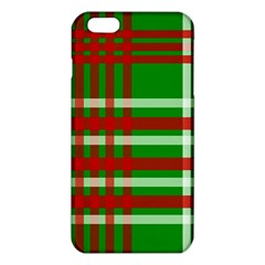 Christmas Colors Red Green White iPhone 6 Plus/6S Plus TPU Case