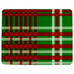 Christmas Colors Red Green White Jigsaw Puzzle Photo Stand (Rectangular)