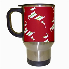 Christmas Card Christmas Card Travel Mugs (White)