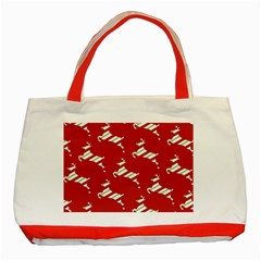 Christmas Card Christmas Card Classic Tote Bag (Red)