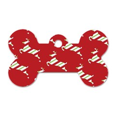 Christmas Card Christmas Card Dog Tag Bone (Two Sides)