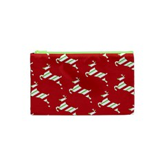 Christmas Card Christmas Card Cosmetic Bag (XS)